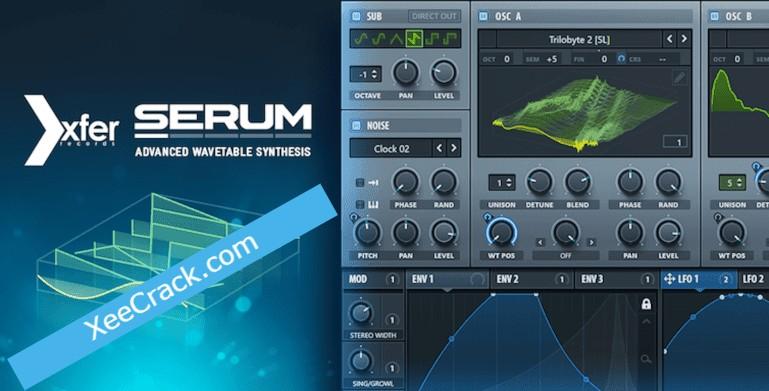 Xfer Serum V3b5 Crack Incl Serial Key Download 2021