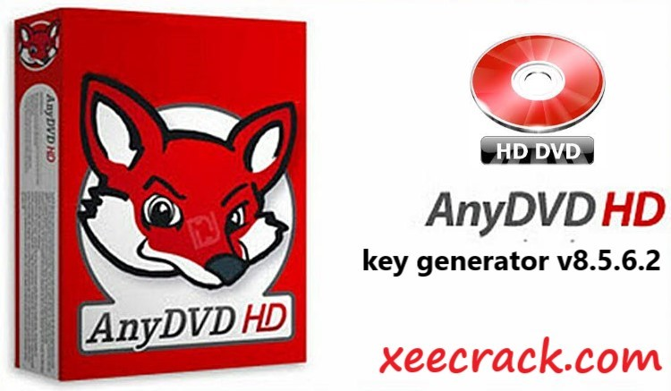 AnyDVD key generator